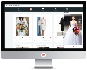 Puctto virtual fitting room apps for bridal gowns.
